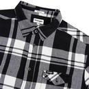 WRANGLER 1 Pocket Brushed Check Western Shirt (B)
