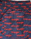 WRANGLER Men's Retro 70s All Over Logo Swim Shorts