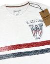 WRANGLER Retro 1970s Chest Stripe Varsity T-shirt