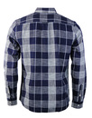 Wrangler Retro 1 Pocket Indigo Dye Check Shirt