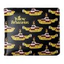 The Beatles yellow submarine billfold wallet black
