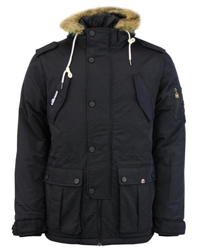 Blizzard ELLESSE Retro Fleece Lined Padded Parka A