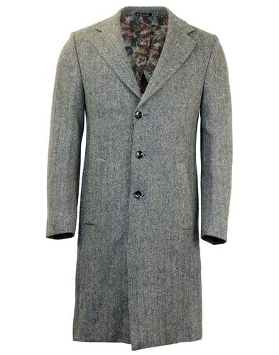 Radar 1 LIKE NO OTHER 60s Mod Herringbone Overcoat