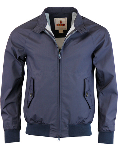 BARACUTA G9 Baratex 3L Harrington Jacket - Navy