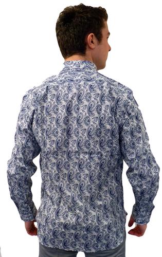 Tailored Paisley BEN SHERMAN Retro Mod Shirt (G)