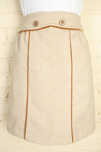 'Dervish Skirt' - Retro Skirt by DAINTY JUNE (T)
