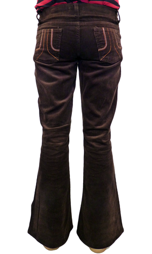 'Brown Bomber Flares' - Retro Mod Cord Flares