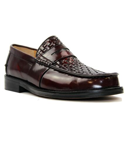 Brummell Weave DELICIOUS JUNCTION Mod Loafers (O)