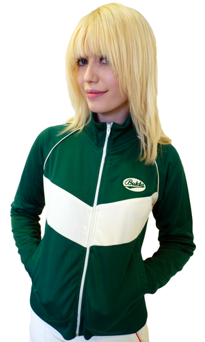 'Ancoats' - Womens Retro Track Top by BUKTA