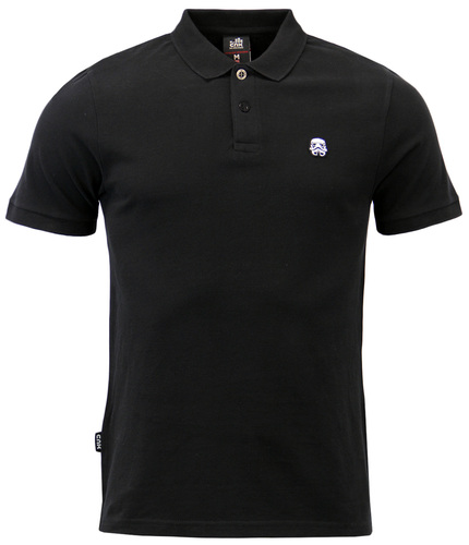 CHUNK Star Wars Storm Trooper Crest Pique Polo