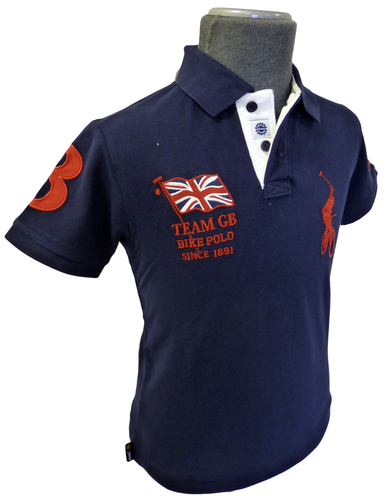 Country Bike Polo CHUNK Mens Retro Indie Top GB