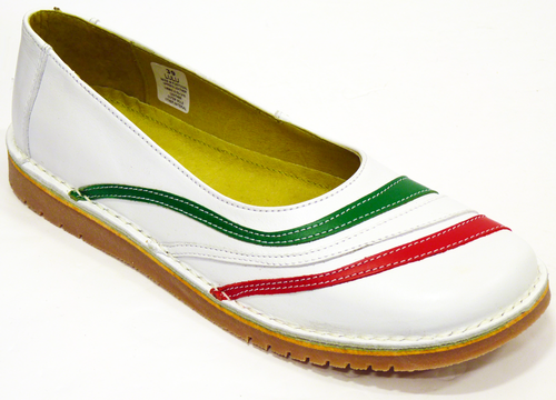 Lulu Italia - DJ Retro Sixties Mod Slip On Shoes