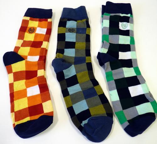 FLY53 'Pilchard' Mens Retro Socks Gift Set