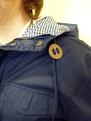 Chamberlain FARAH VINTAGE Retro Mod Parka Coat (M)