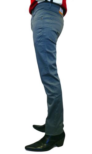 Wagner FARAH VINTAGE Mens Mod Sateen Retro Jeans S