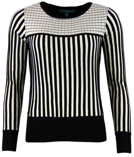 Lewes FEVER Retro Vintage Womens Stripe Sweater