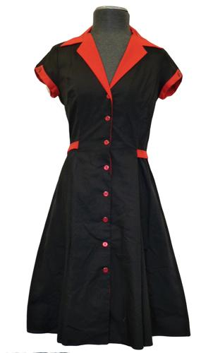 'Diner' -Retro Fifties Dress by HEARTBREAKER (B/R)
