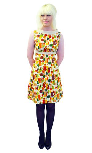 Cheers HEARTBREAKER Retro 60s Fifi A-Line Dress