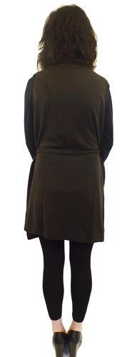 'Nina' - Retro Wrap Cardigan-Dress by JOHN SMEDLEY