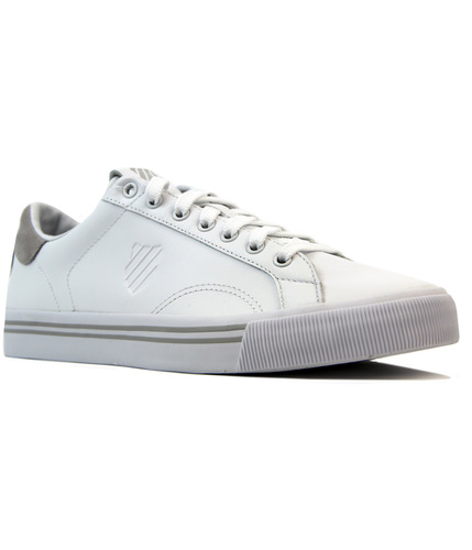 Bridgeport K-SWISS Retro Leather Tennis Trainers