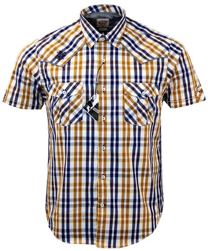 Classic Check LAMBRETTA Retro Mod Pocket Shirt (N)