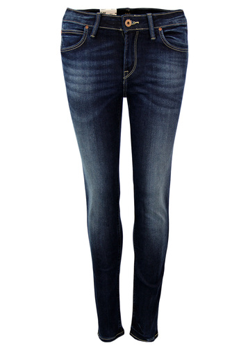 Scarlett LEE Retro Night Porter Skinny Denim Jeans