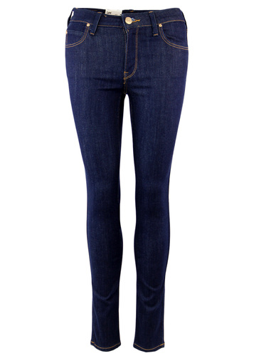 Jodee LEE Retro Super Skinny One Wash Denim Jeans