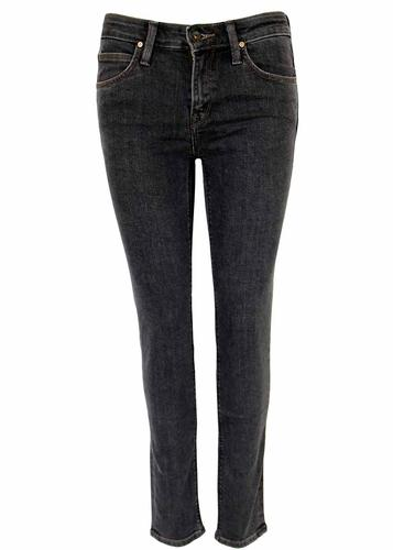 Scarlett LEE Retro Black Wash Skinny Denim Jeans