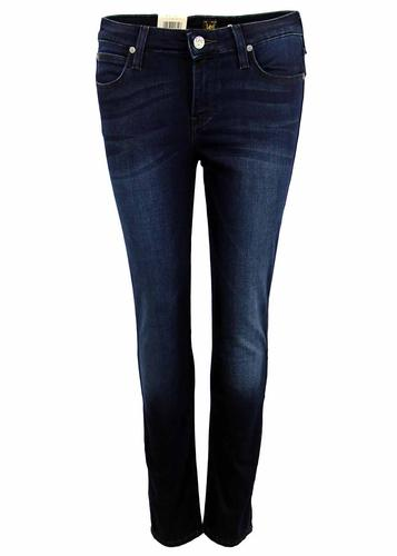 Scarlett LEE Retro Pitch Royal Skinny Denim Jeans