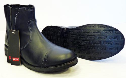 20b712f037f Track Levi's® Mens Retro Mod Chelsea Boots (Bl)