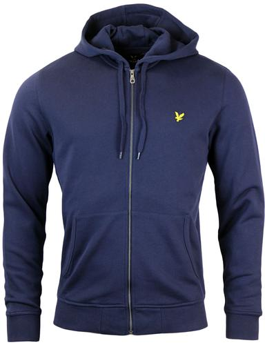 LYLE & SCOTT Retro Indie Zip Through Hoodie Navy