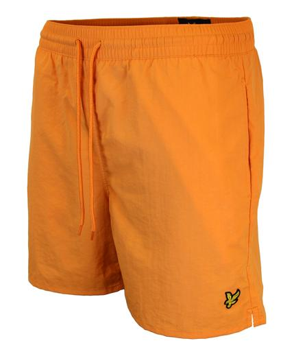 LYLE & SCOTT Retro Mod Plain Nylon Swim Shorts O