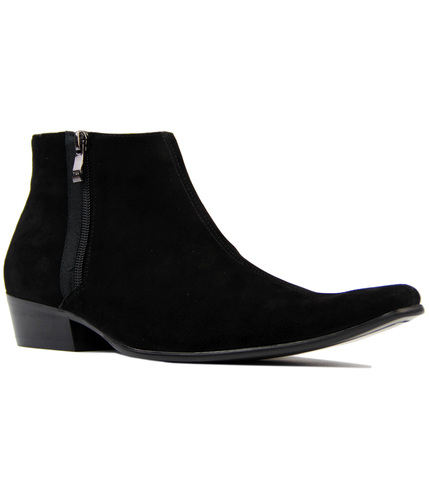 Thunderbolt MADCAP Chisel Toe Chelsea Boots (BS)