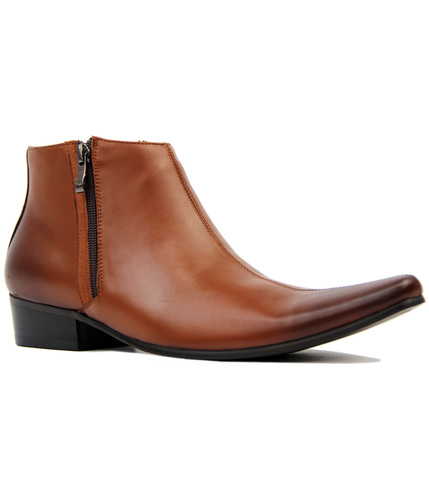 Thunderbolt MADCAP Chisel Toe Chelsea Boots (Br)