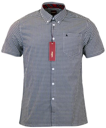 Terry MERC Retro Button Down Classic Gingham Shirt