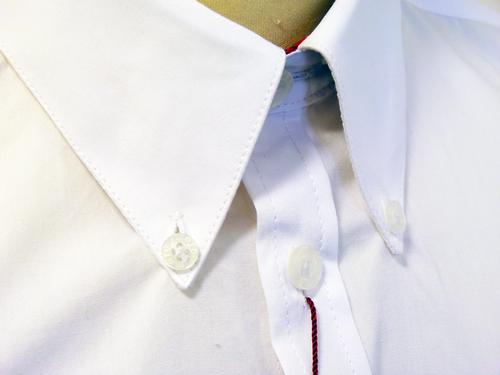 Albin MERC 60s Mod Button Down L/S Smart Shirt W