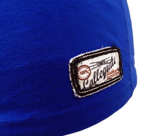 Michigan NCAA Collegiate Vintage V-Neck Tee B