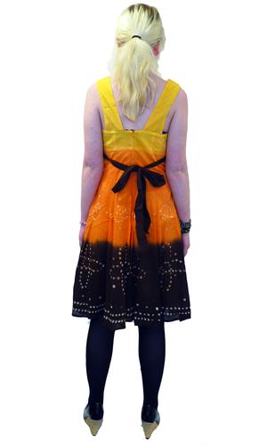Lalena NOMAD ORIGINALS Retro 70s Tie Dye Dress