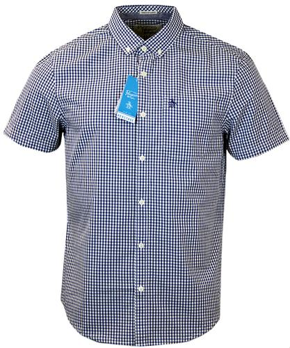 Belan ORIGINAL PENGUIN Retro Mod Gingham Shirt
