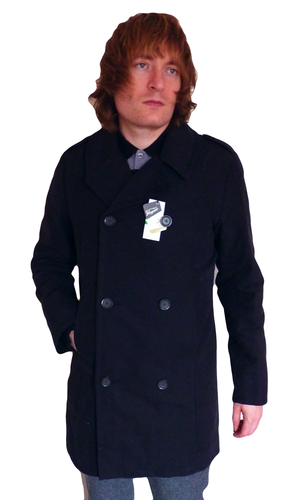 luxury first rate super specials ORIGINAL PENGUIN Mod Peacoat with Removable Lining