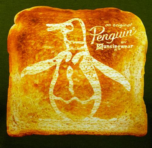 Penguin On Toast ORIGINAL PENGUIN Retro Indie Tee