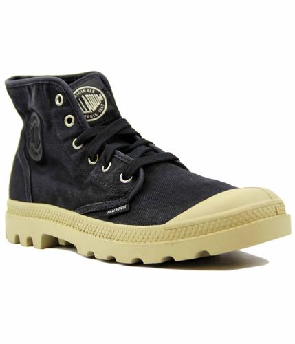 Pampa Hi PALLADIUM Retro Washed Canvas Boots B/P