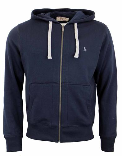 Secret Sam ORIGINAL PENGUIN Retro Indie Hooded Top