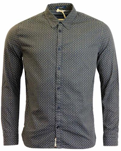 Chia PEPE JEANS Retro Mini Dot & Cross Print Shirt