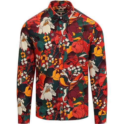 79a0a5fb Paisley Shirts, Polka Dot Shirts, Mod Floral Shirts, Retro Prints