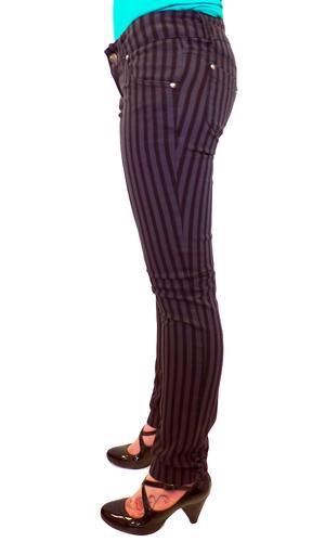 'Moll' - Indie Retro Mod Drainpipe Skinny Jeans