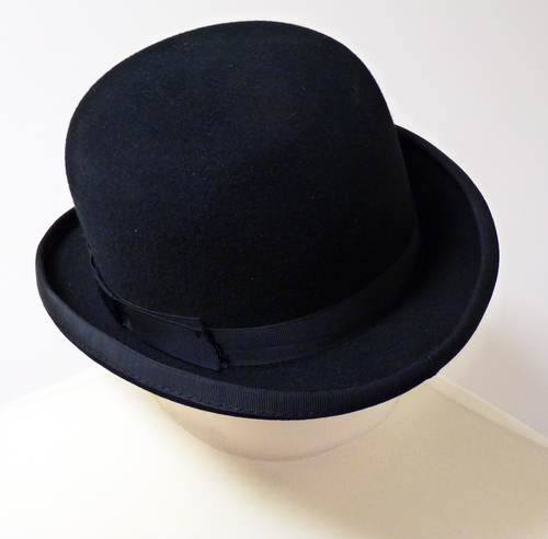 Bowler Hat - Sophisticated Retro Mod Headwear