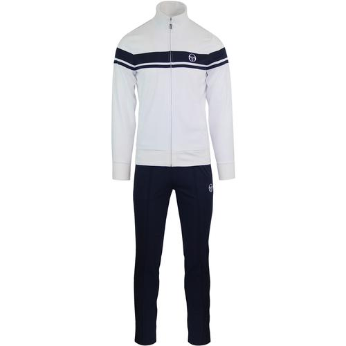 80126191c83a Sergio tacchini young line track top white navy