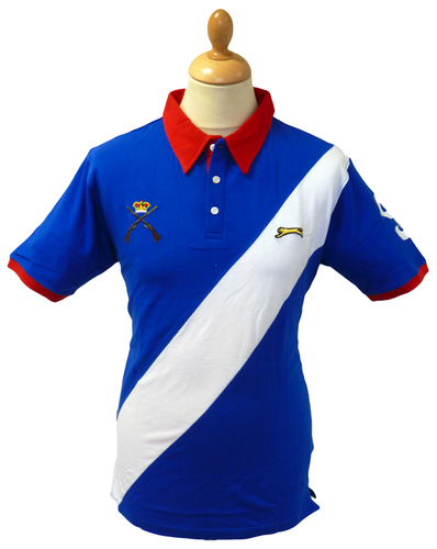 Dragoon SLAZENGER HERITAGE Mod Cross Guns Polo (S)