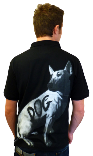 Derrick SLAZENGER HERITAGE God Dog Retro Polo (B)